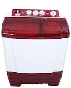 Onida 6.5 kg Semi Automatic Top Load Washing Machine (65SBT, Maroon & White)