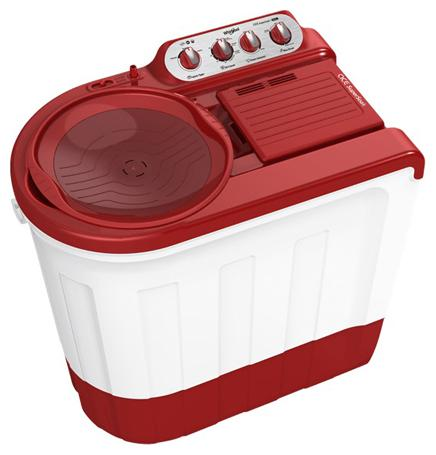 Whirlpool 7.5 kg Semi Automatic Top Load Washing Machine (ACE SUPER SOAK, Coral Red)