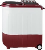 Whirlpool 8 kg Semi Automatic Top Load Washing Machine (ACE TURBODRY, Coral Red & White)