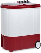 Whirlpool 9.5 kg Semi Automatic Top Load Washing Machine (ACE XL, Coral Red & White)