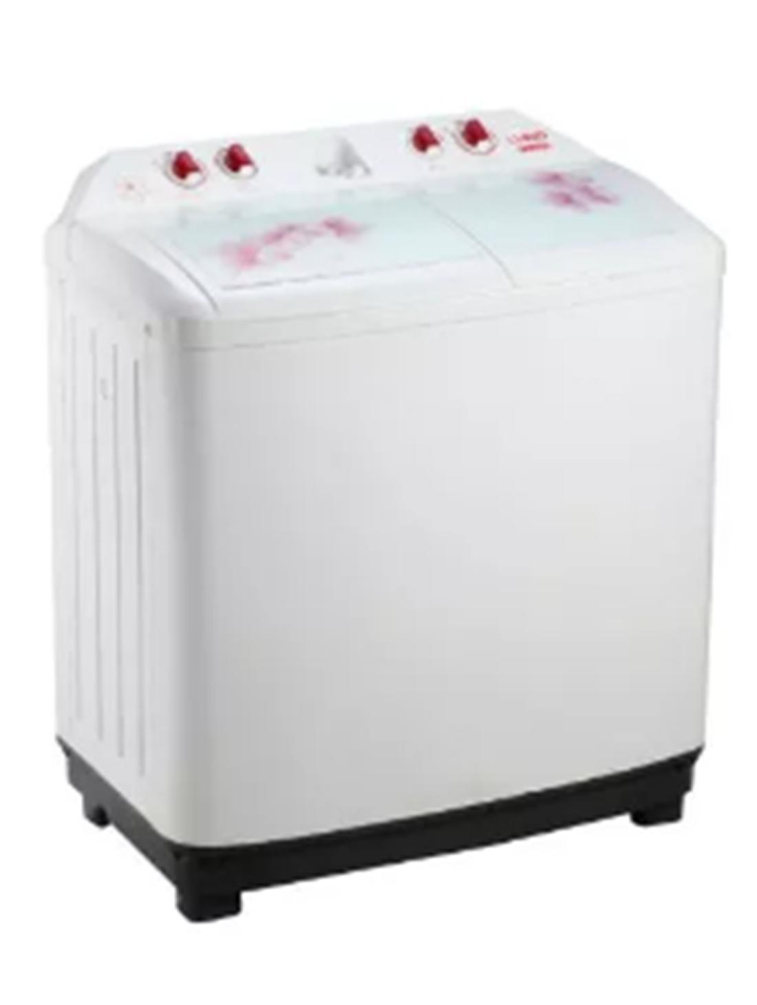 Lloyd 8.2 kg Semi Automatic Top Load Washing Machine (BIG BUBBLE LWMS82L, White)