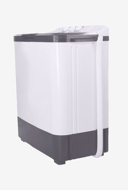 Croma 7.8 kg Semi Automatic Top Load Washing Machine (CRAW2201, White)
