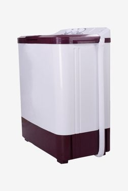 Croma 6.5 kg Semi Automatic Top Load Washing Machine (CRAW2203, White)