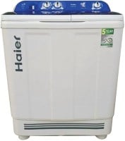 Haier 8 kg Semi Automatic Top Load Washing Machine (HTW80-1128, Blue & White)