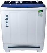 Haier 9 kg Semi Automatic Top Load Washing Machine (HTW90-1159, Blue & White)