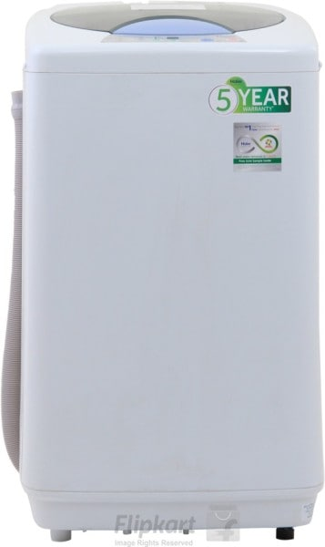 Haier 6 kg Fully Automatic Top Load Washing Machine (HWM60-10, White)