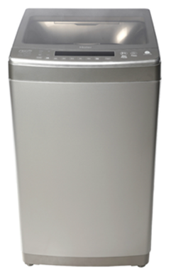 Haier 6.5 kg Fully Automatic Top Load Washing Machine (HWM65-698NZP, Grey)