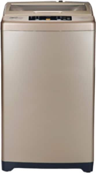 Haier 6.5 kg Fully Automatic Top Load Washing Machine (HWM65-707GNZP, Gold)