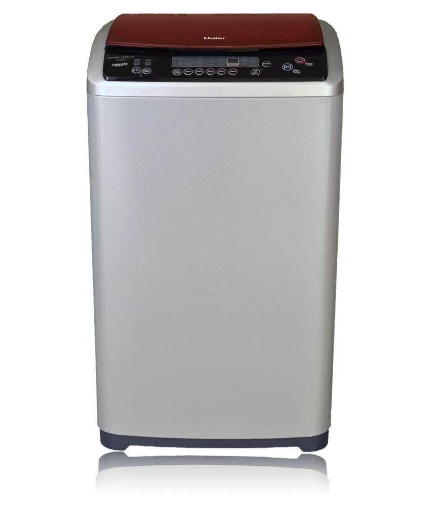 Haier 7 kg Fully Automatic Top Load Washing Machine (HWM70-707NZP, Grey)