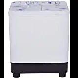 Haier 7.6 Kg Semi Automatic Top Load Washing Machine (HWM72-1159FW, White)