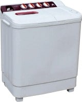 Lloyd 6.5 kg Semi Automatic Top Load Washing Machine (LWMS65L, White)