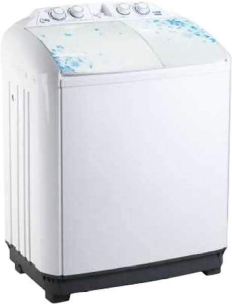 Lloyd 7.8 kg Semi Automatic Top Load Washing Machine (LWMS78L, White)