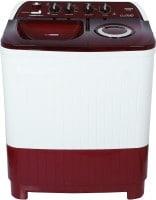 Lloyd 8.5 kg Semi Automatic Top Load Washing Machine (LWMS85RDB, Red & White)