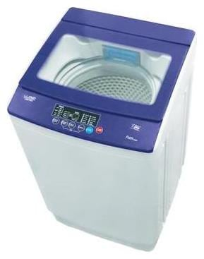 Lloyd 6.5 kg Fully Automatic Top Load Washing Machine (LWMT65TG, White & Purple)