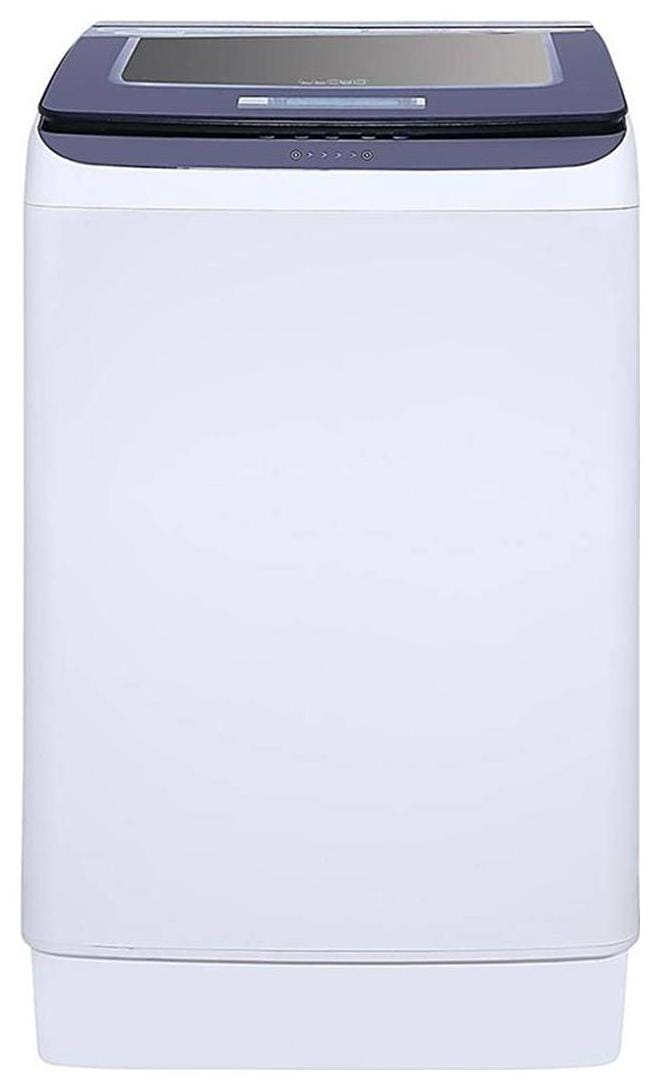 Lloyd 7.5 kg Fully Automatic Top Load Washing Machine (LWMT75TGS, White & Blue)