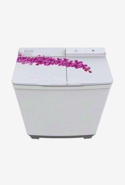 Mitashi 8.5 kg Semi Automatic Top Load Washing Machine (MISAWM85V10, White)