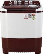 LG 7 Kg Semi Automatic Top Load Washing Machine (P7015SRAY, Burgundy)