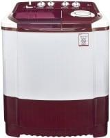 LG 6.5 kg Semi Automatic Top Load Washing Machine (P7559R3FA, Burgundy & White)