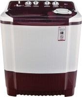 LG 8 kg Semi Automatic Top Load Washing Machine (P9042R3SM, Maroon & white)