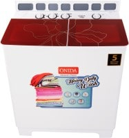 Onida 8.5 kg Semi Automatic Top Load Washing Machine (S85GC, Red & White)