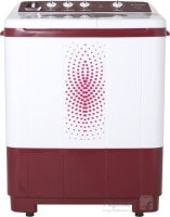 Sansui 7.2 kg Semi Automatic Top Load Washing Machine (SS72FR-DMA, Maroon & white)