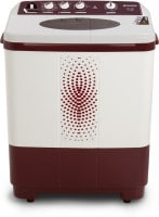 Sansui 7.3 kg Semi Automatic Top Load Washing Machine (SS73FM-DMA, Maroon & white)