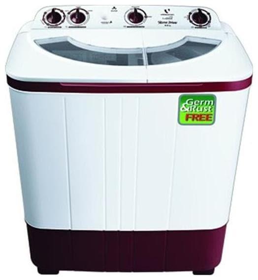 Videocon 6 kg Semi Automatic Top Load Washing Machine (STORM PRIME, Dark Maroon)