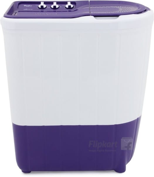 Whirlpool 6 kg Semi Automatic Top Load Washing Machine (SUPERB ATOM 60I, Purple & White)