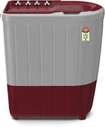 Whirlpool 7 kg Semi Automatic Top Load Washing Machine (SUPERB ATOM 70S, Red & White)