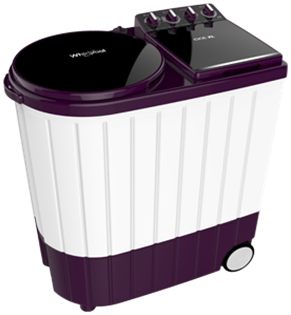 Whirlpool 7 kg Semi Automatic Top Load Washing Machine (SUPERB ATOM 70S, Purple & White)