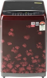 LG 7 kg Fully Automatic Top Load Washing Machine (T70SJDR1Z, Red)