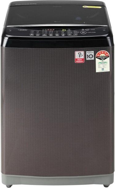 LG 8 kg Fully Automatic Top Load Washing Machine (T80SJBK1Z, Black)
