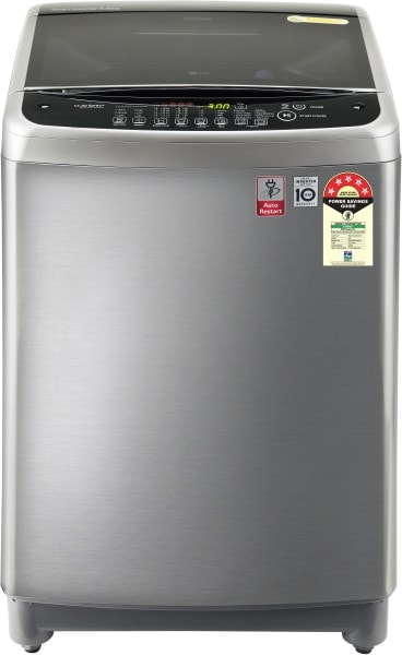 LG 8 kg Automatic Top Load Washing Machine (T80SJSS1Z, Grey)