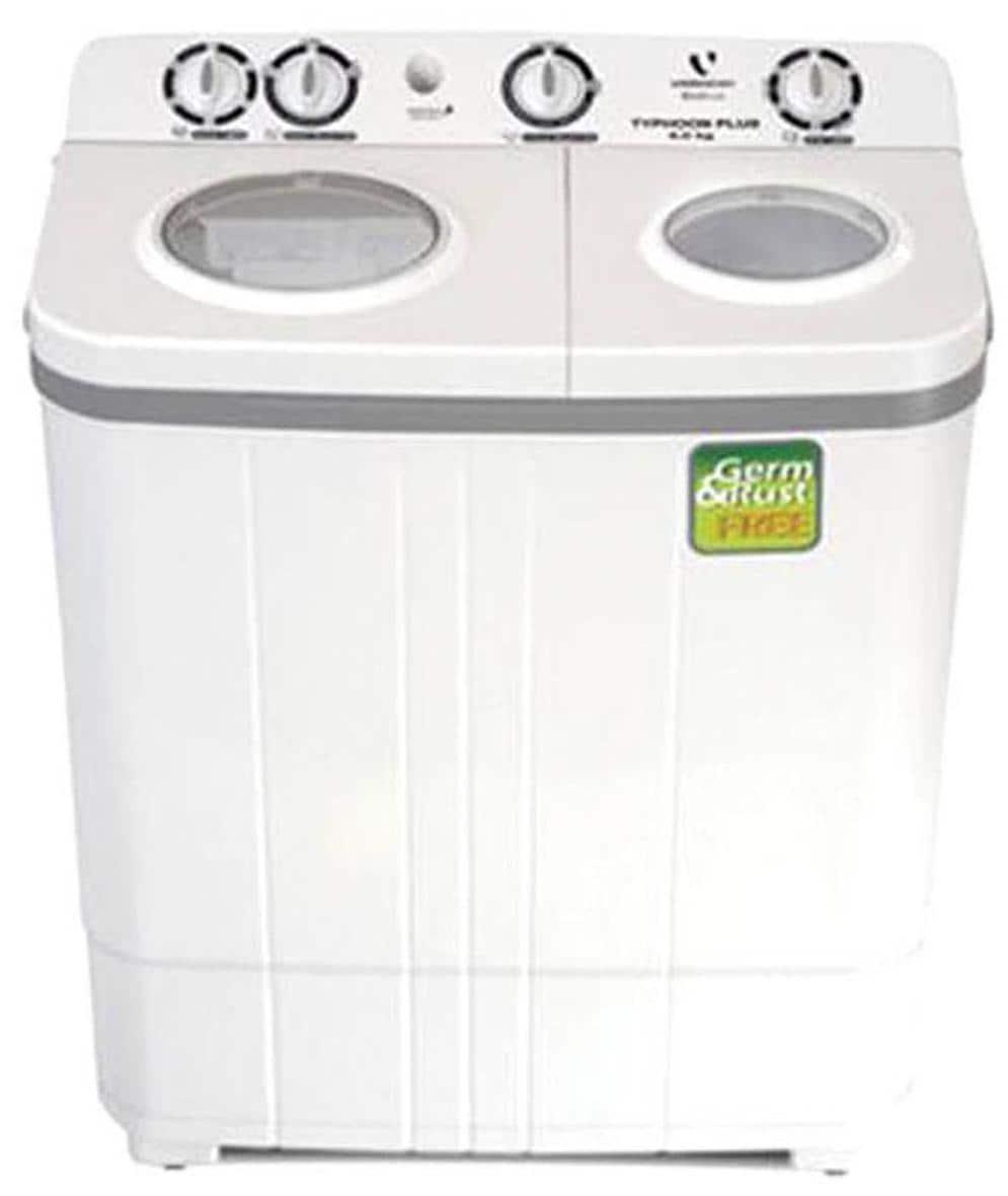 Videocon 6 kg Semi Automatic Top Load Washing Machine (VS60B11, White)