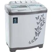 Vestar 7.2 kg Semi Automatic Top Load Washing Machine (VWTT72VPGY, Grey)
