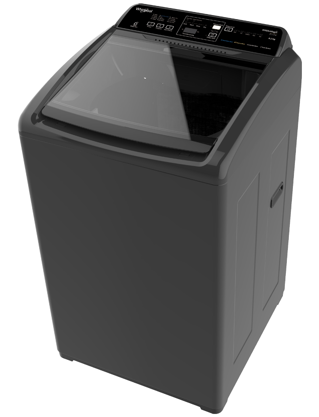Whirlpool 6.2 kg Fully Automatic Top Load Washing Machine (WHITEMAGIC ELITE, Black)