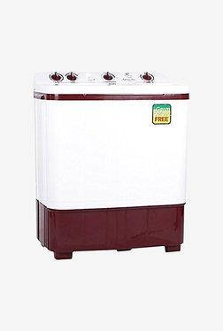 Videocon 6 kg Semi Automatic Top Load Washing Machine (WM VS60B11-DMA, Maroon & white)