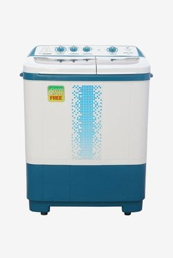 Videocon 7.2 kg Semi Automatic Top Load Washing Machine (WM VS72H12-DMA, Blue & White)