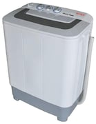 Intex 6.5 kg Semi Automatic Top Load Washing Machine (WMS65, Grey)