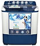 Intex 7.2 kg Semi Automatic Top Load Washing Machine (WMSA72DB, Dark Blue)