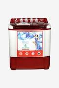 Intex 7.2 kg Semi Automatic Top Load Washing Machine (WMSA72DR CVP, Dark Red)