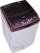 Onida 6.5 kg Fully Automatic Top Load Washing Machine (WO65TSPLDD1, Maroon & white)