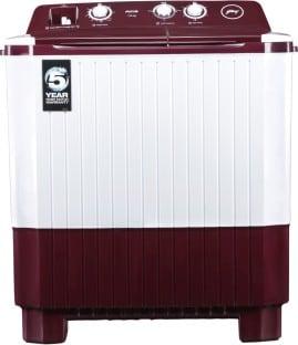 Godrej 7 Kg Semi Automatic Top Load Washing Machine (WS AXIS PN2 T WNRD, White & Maroon)