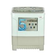 Godrej 7.2 kg Semi Automatic Top Load Washing Machine (WS EDGE 720 CT, Excel Grey)
