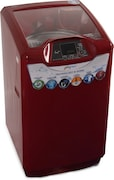 Godrej 6.5 kg Fully Automatic Top Load Washing Machine (WT EON 650 PHU, Metallic Red)