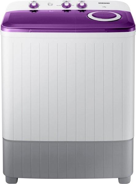 Samsung 6 kg Semi Automatic Top Load Washing Machine (WT60R2000LL/TL, White & Grey)