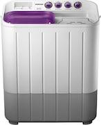 Samsung 6.5 kg Semi Automatic Top Load Washing Machine (WT665Q, White & Grey)