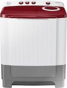 Samsung 8 kg Semi Automatic Top Load Washing Machine (WT80R4000RG/TL, Red & White)