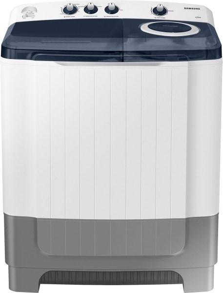 Samsung 8 kg Semi Automatic Top Load Washing Machine (WT80R4200LG/TL, Blue & White)