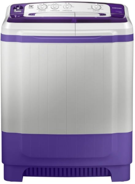 Samsung 8.5 kg Semi Automatic Top Load Washing Machine (WT85M4200HB, Purple & White)
